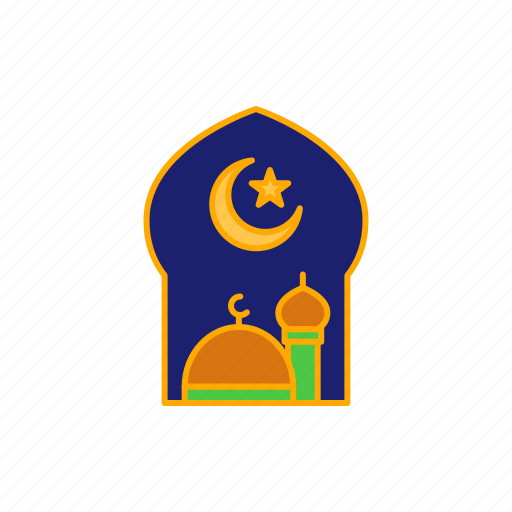 Crescent, islam, moon, mosque, star icon - Download on Iconfinder