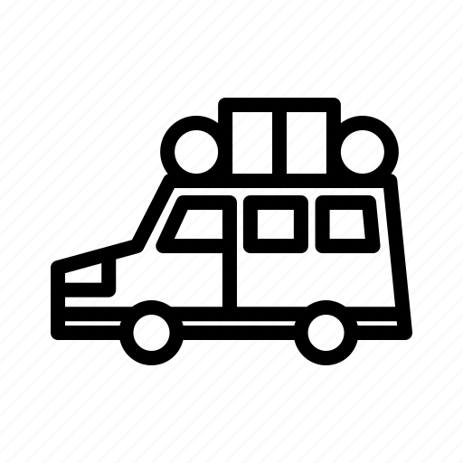 car, eid, islam, moslem, mubarak, mudik, ramadan icon