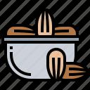 dactylifera, date, fruite, palm, phoenix icon