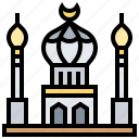 mosque, muslim, place, religion, worship icon
