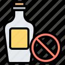 alcohol, ban, drink, forbid, no