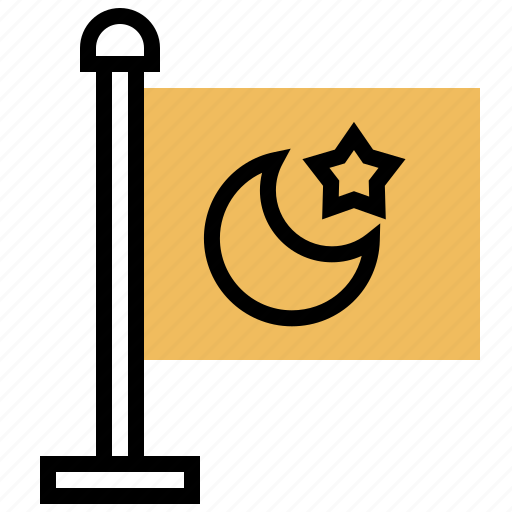 Crescent, islam, kareem, mubarak, ramadan icon - Download on Iconfinder