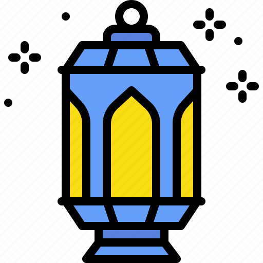 light lantern ramadan lamp fire icon iconfinder