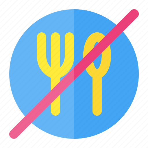 dont, eat, food, forbidden, meal, stop, warning icon