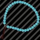 bead, islam, islamic, paternoster, religion, religious, rosary icon