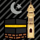 hajj, kaaba, makkah, muslim, religion, tawaf, umrah icon
