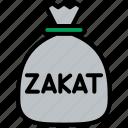 zakat, donate, ramadan, eid icon