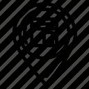 kaaba, landamark, location, maps icon