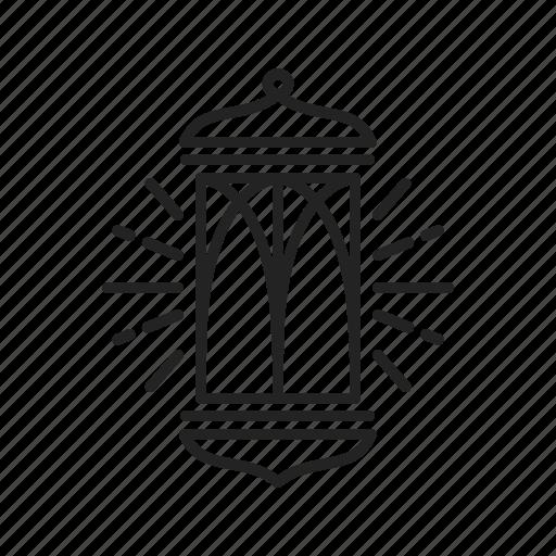 lantern, lapm, ramadhan icon