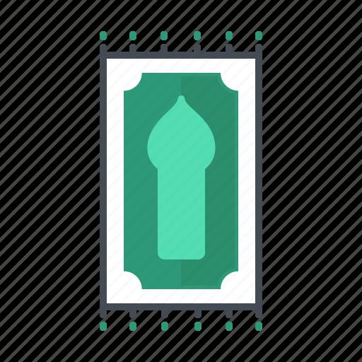 pray, ramadhan, rugs icon