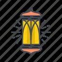 lamp, light, ramadhan icon