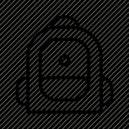 bag, education, school, school bag icon