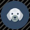 animal, creature, dog, dog head, puppy, specie icon