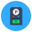 fee voucher, invoice, parking fee, parking ticket, receipt icon