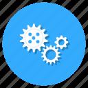 cogs, cogwheel, configuration, gears, gearwheel icon