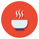 food, food bowl, hot soup, soup, soup bowl icon