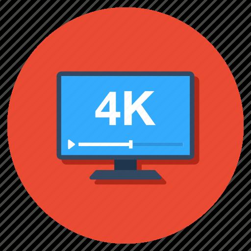desktop, display, hd screen, led, monitor icon