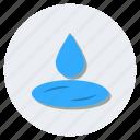 drop, humidity, raindrop, raining, water drop, water droplet icon