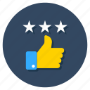customer experience, customer satisfaction, feedback, review, testimonial icon