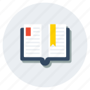 book, knowledge, novel, rule book, storybook, study, textbook icon