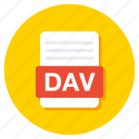 adobe document, adobe file, dav document, dav file, dav folder icon