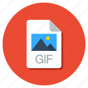adobe document, adobe file, gif document, gif file, gif folder icon