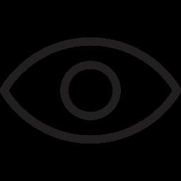 eye, misc, vision icon