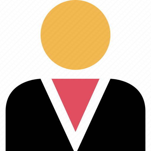 businessperson, man, online icon