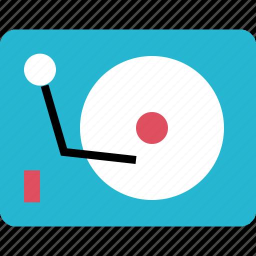 dj, music, online, player icon