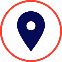 find, gps, location, pin icon