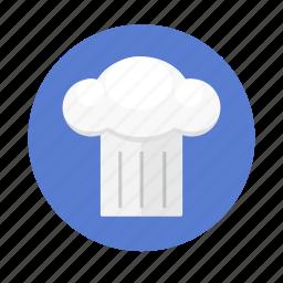 cap, chef, cook, food, hat, restaurant icon
