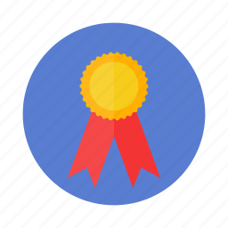 medal, prize, reward, win icon