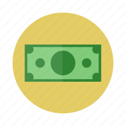 bill, cash, dollar, exchange, money, payment, price icon