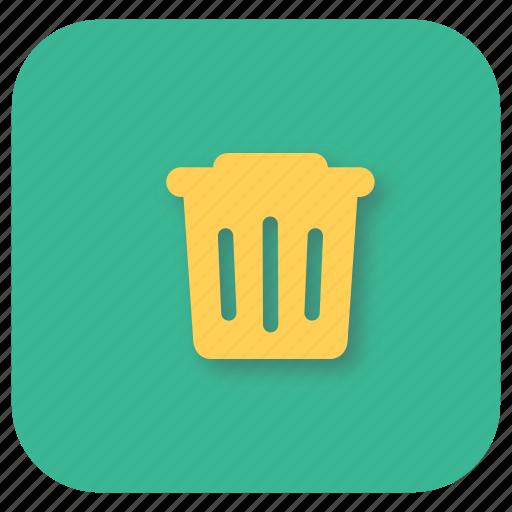 bin, delete, discard, interface, trash, ui, web icon