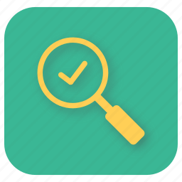 found, interface, success, ui, web icon