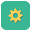 cog, gear, interface, options, settings, ui icon