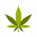 cannabis, drug, leaf, marijuana, medicine, narcotic, plant icon