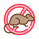against, protect, rat, sign