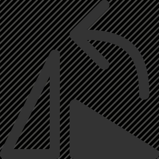 anticlockwise, arrow, left, rotate, shape icon