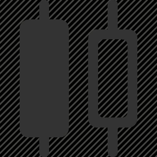 align, alignment, center, distribute, horizontal, position, shape icon
