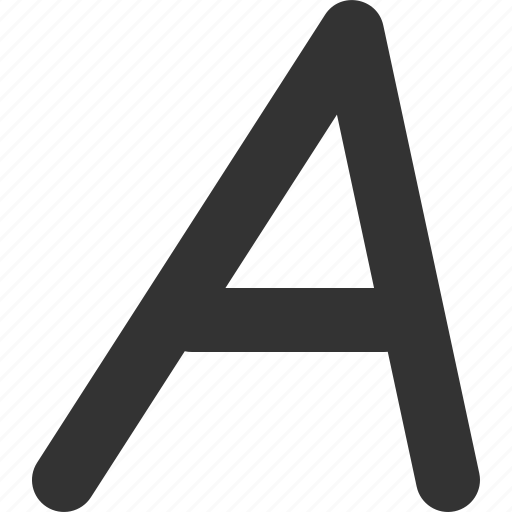 font, letter, text, type icon