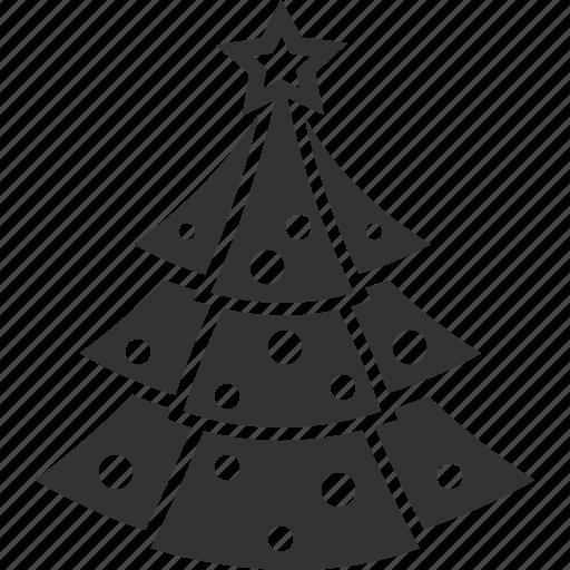 christmas, toy, tree icon