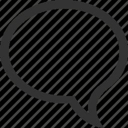 bubble, chat, comment, comments, communication, message, talk icon