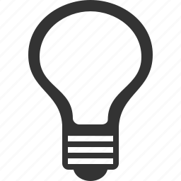bulb, electric, electricity, energy, idea, lamp, light icon
