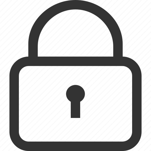 lock, login, password, privacy, private, protection, security icon