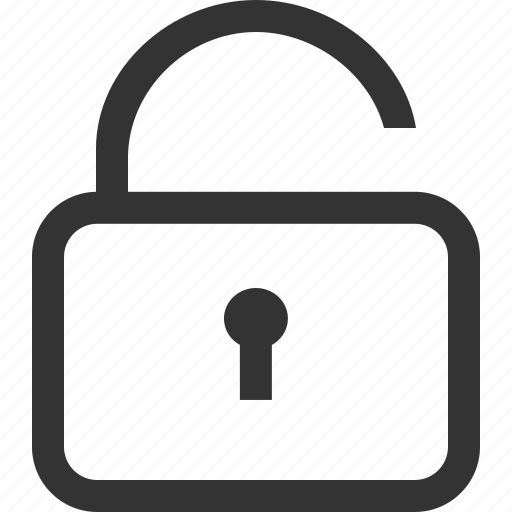 lock, password, private, protection, safe, security, unlock icon