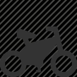 bicycle, bike, travel, wheel icon