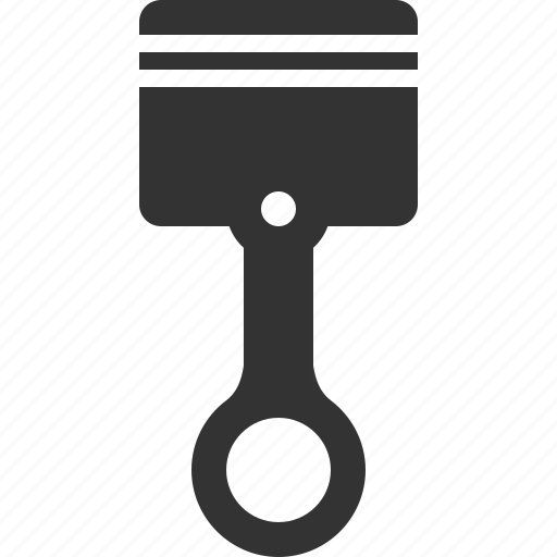 compression, forcer, piston, plunger icon
