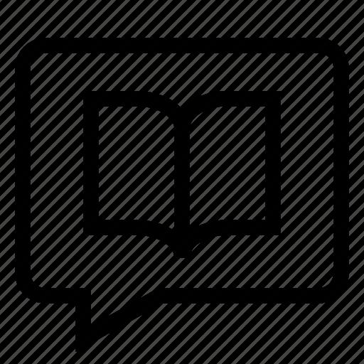 bubble, chat, chatting, comment, conversation, forum, review icon