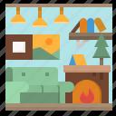 decor, decoration, home, household, sofa icon